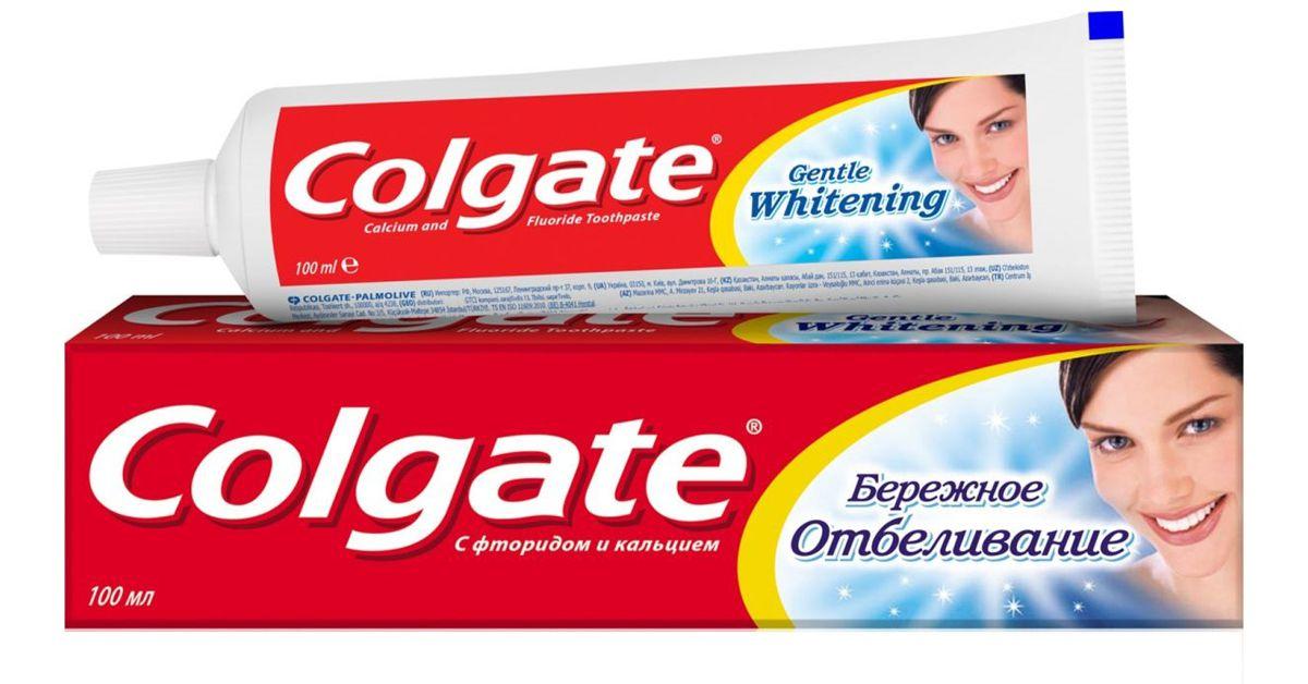 Зубная паста Colgate «Бережное отбеливание»
