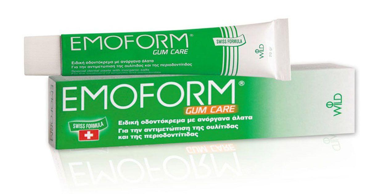 Зубная паста EMOFORM-F «Для чувствительных зубов»