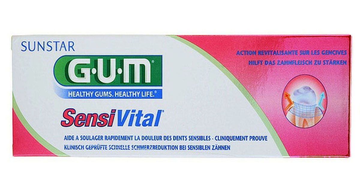 Зубная паста GUM SensiVital