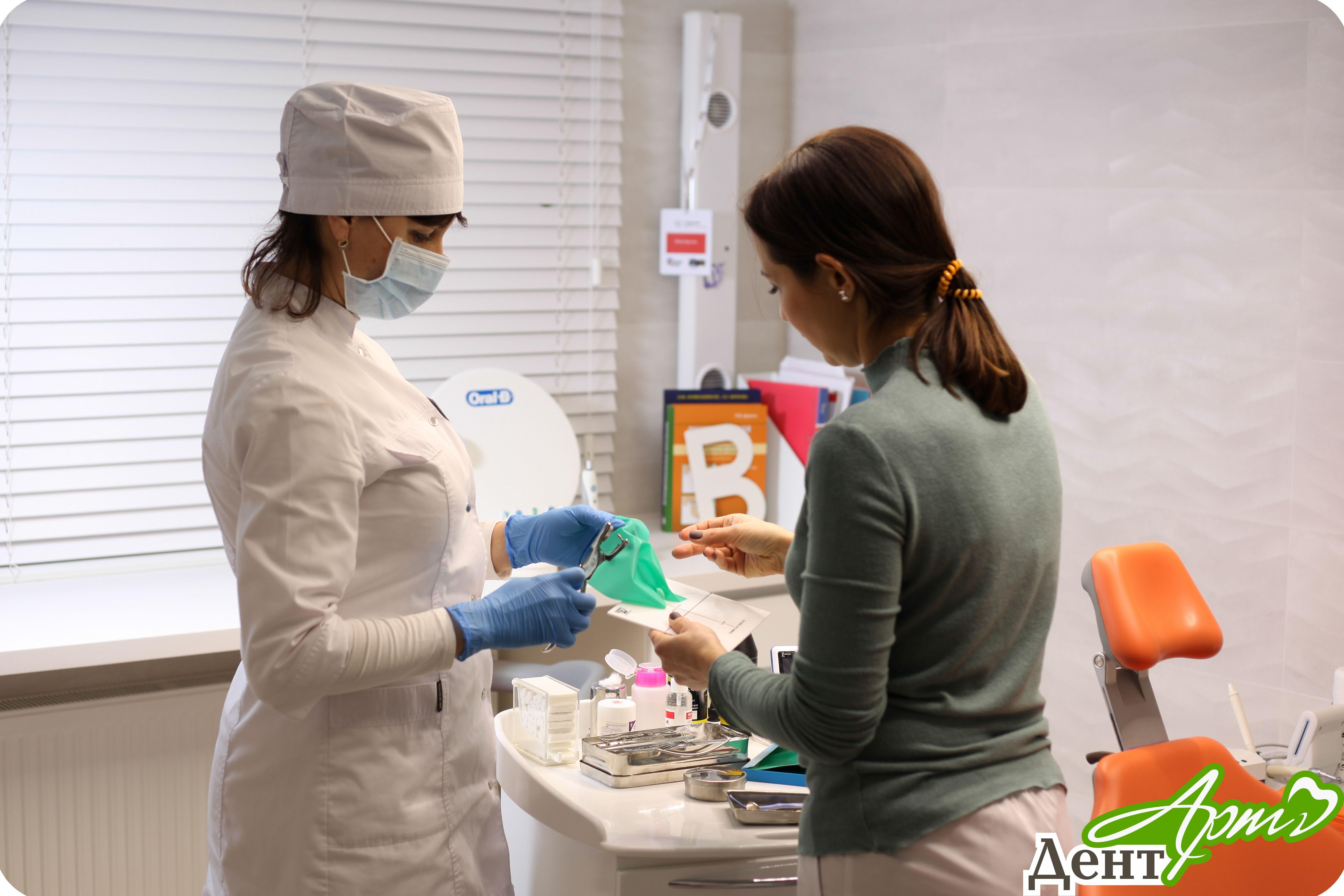 плазмотерапии десен в клинике «ДентАрт»