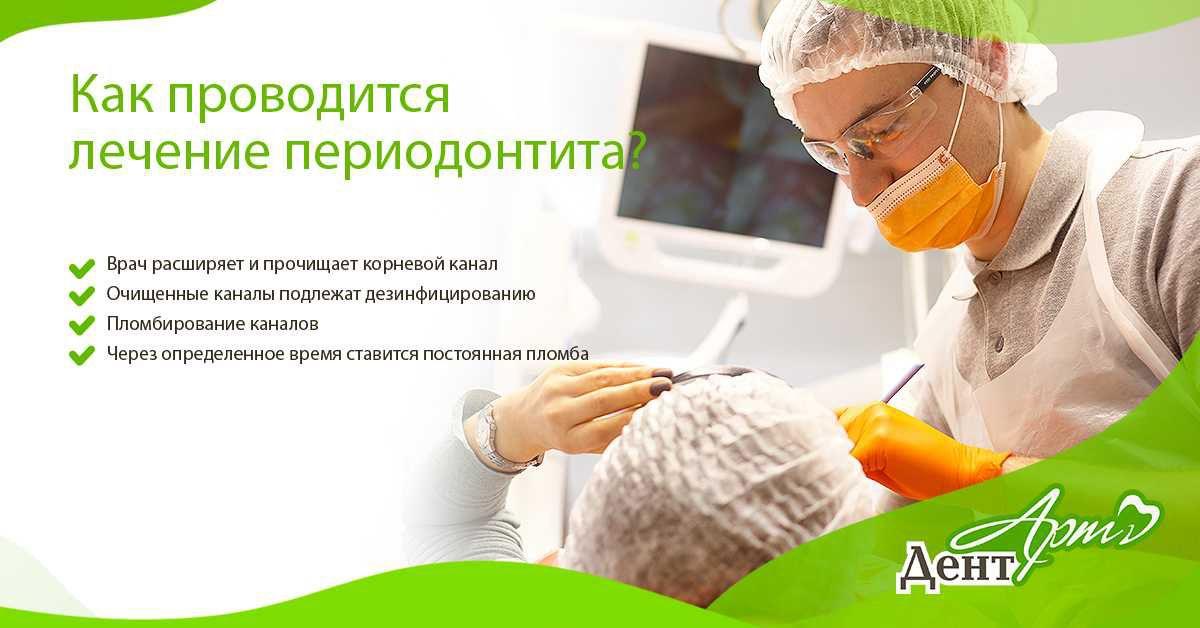 Лечение Периодонтита в Днепропетровске