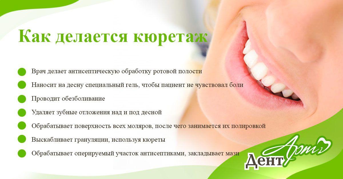 кюретаж зубов