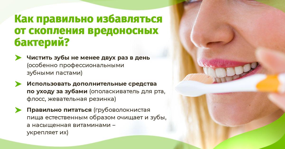Возникновение кариеса происходит из-за неполноценной гигиены рта. Как правильно избавляться от скопления вредоносных бактерий?